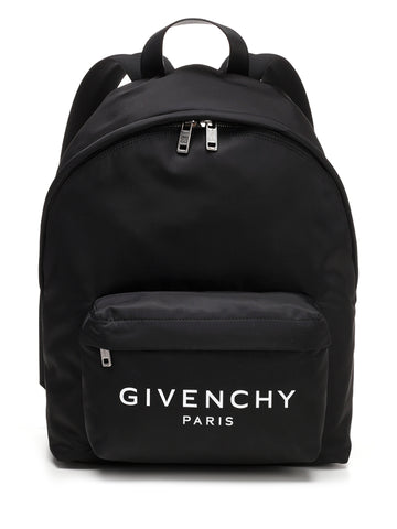 Givenchy Paris Logo Zip Backpack