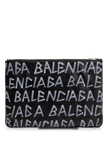 Balenciaga Medium Graffiti Pouch