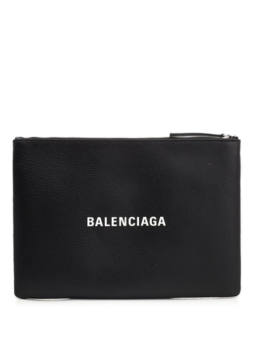 Balenciaga Everyday Medium Logo Pouch