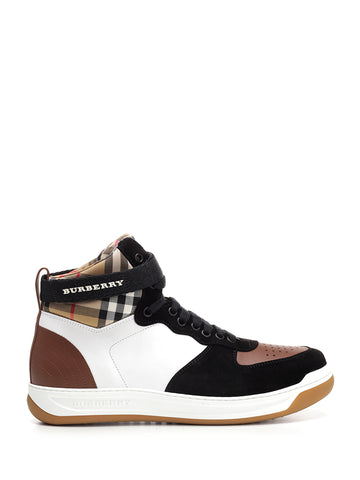 Burberry Dennis High Top Sneakers