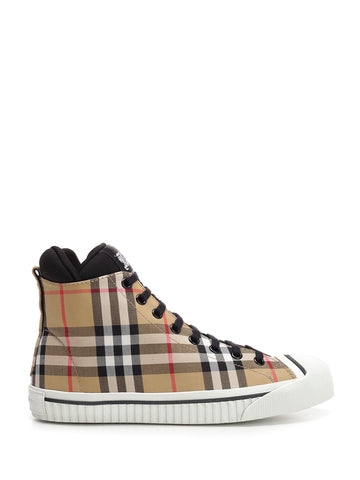 Burberry Kilbourne Check Sneakers