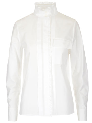 Chloé Ruffled Long Sleeve Shirt