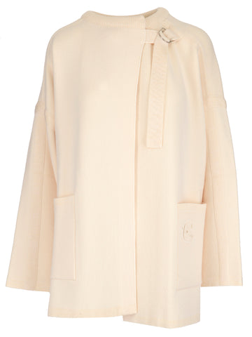 Chloé D-Ring Wrap Round Neck Sweater