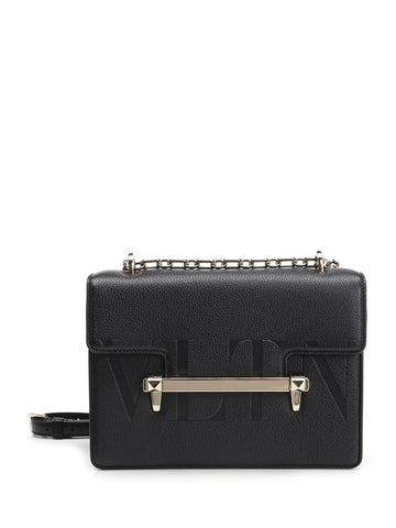 Valentino Garavani Uptown Medium Embossed Shoulder Bag