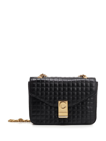 Céline Medium Quilted Crossbody Bag