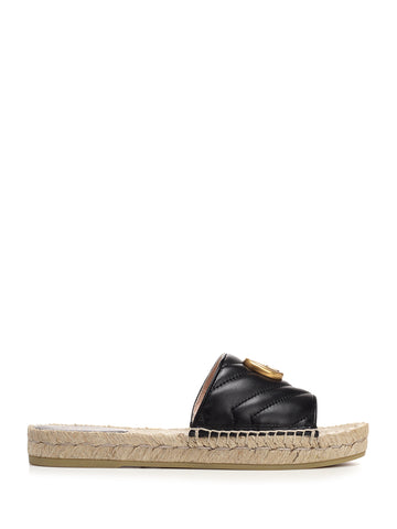 Gucci Double G Espadrille Sandals