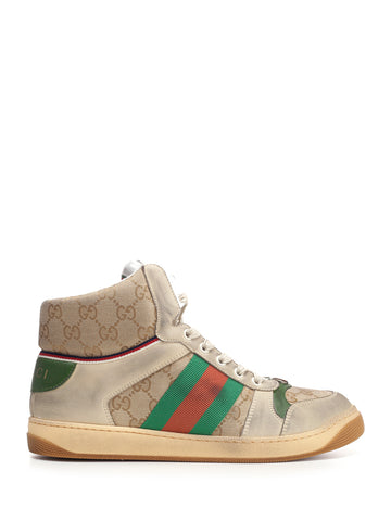 Gucci Screener GG High Top Sneakers