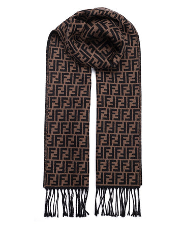 Fendi All Over Logo Scarf