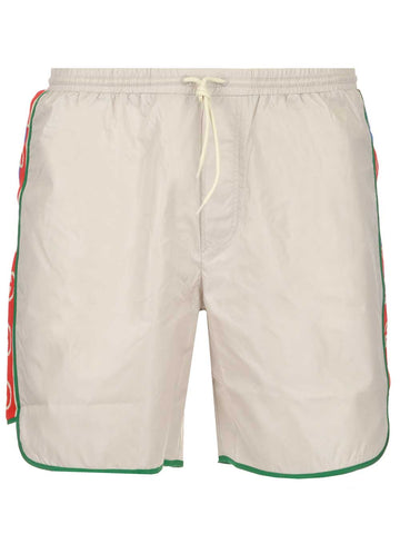 Gucci Logo Band Swim Shorts