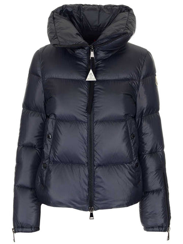 Moncler Logo Patch Quilted Puffer Jacket