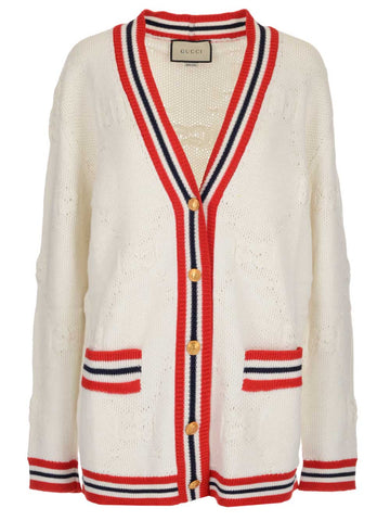 Gucci Knit Elongated Cardigan