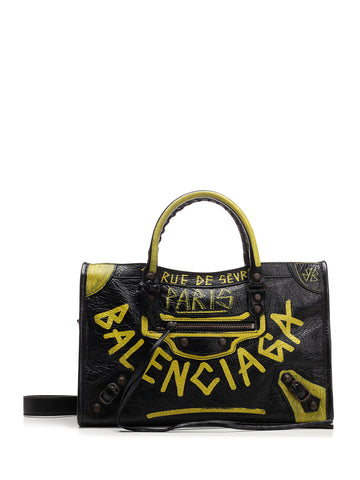 Balenciaga Graffiti City S Tote Bag