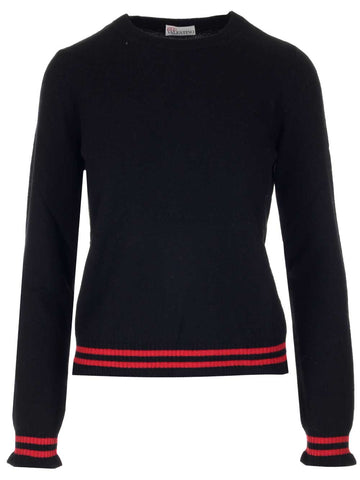 Red Valentino Stripes Detail Sweater