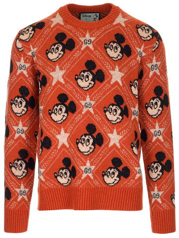 Gucci X Disney GG Mickey Mouse Jumper