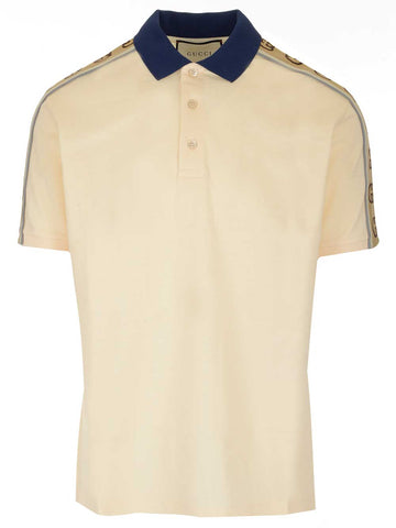 Gucci GG Stripe Polo Shirt