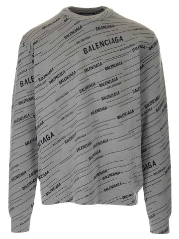 Balenciaga Diagonal Logo Sweater