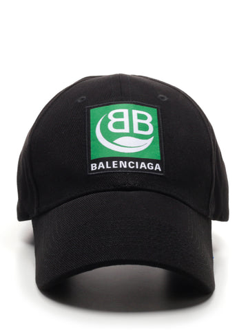 Balenciaga Logo Patch Baseball Cap