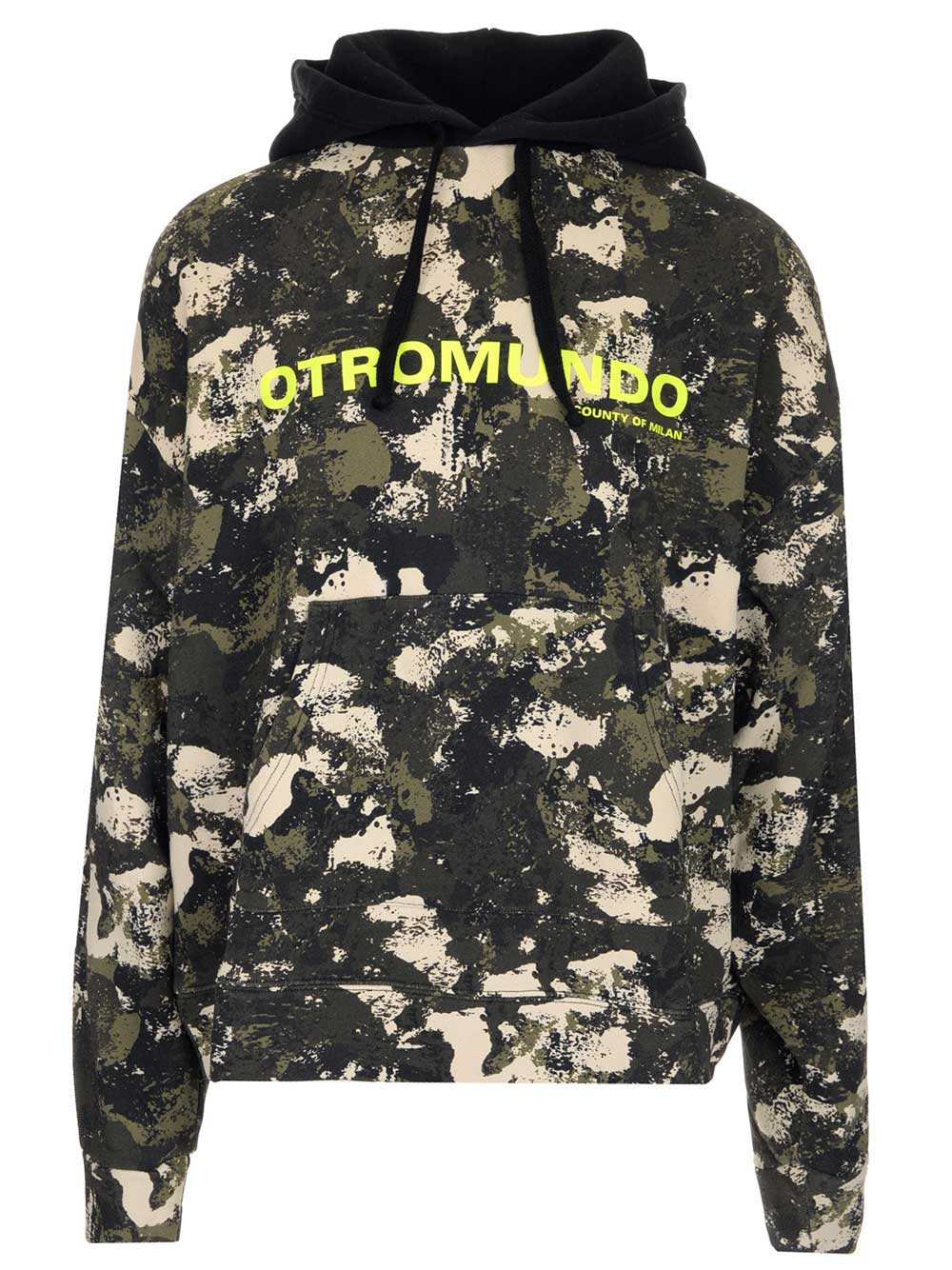 Marcelo Burlon County Of Milan Cottons MARCELO BURLON COUNTY OF MILAN CAMOUFLAGE PRINTED HOODIE
