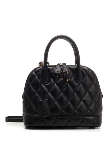 Balenciaga Quilted Top Handle Tote Bag