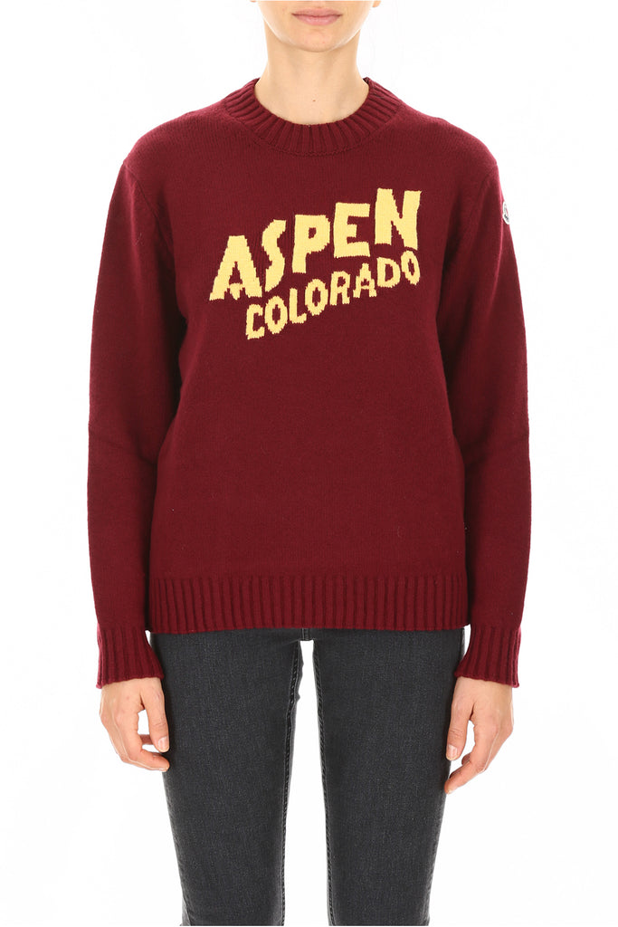 Moncler Basic Aspen Colorado Knitted Jumper