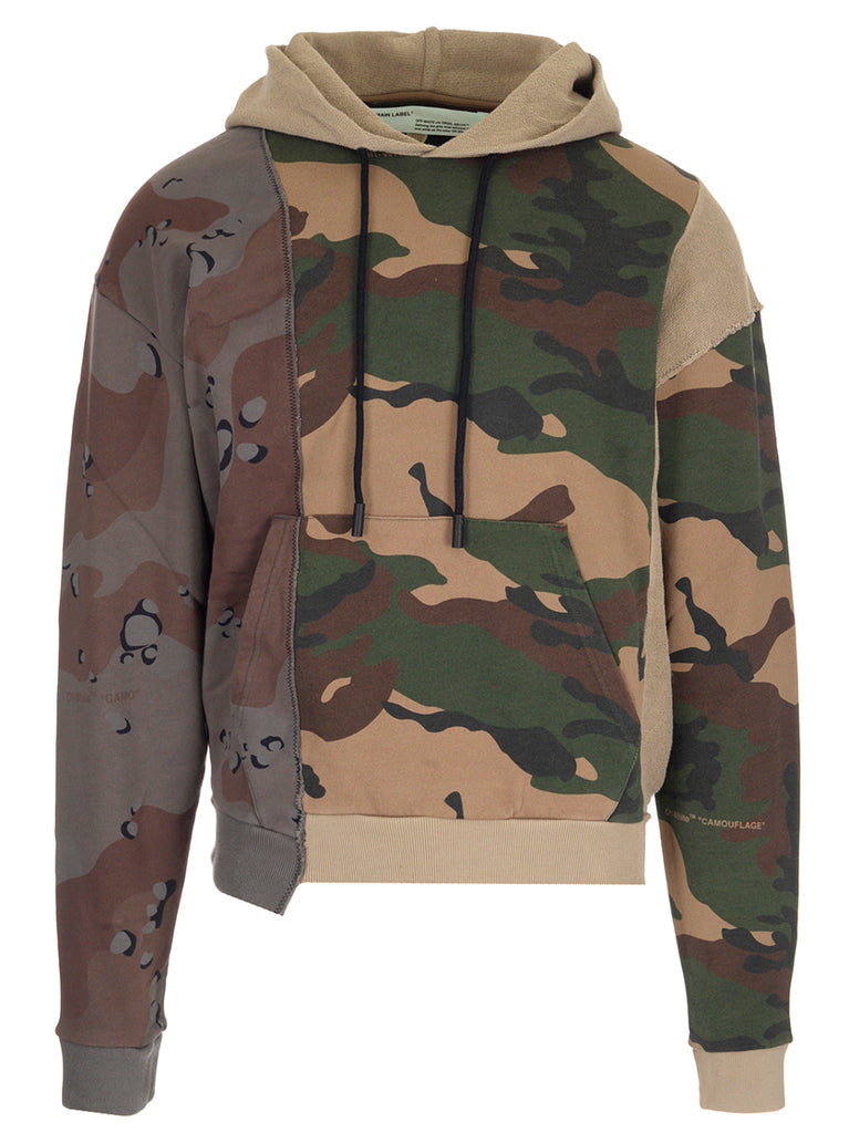 98bf63f16a401 Off-White Camouflage Print Hoodie – Cettire