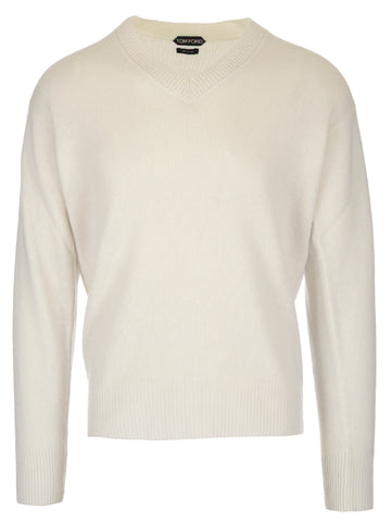 Tom Ford Long Sleeve V-Neck