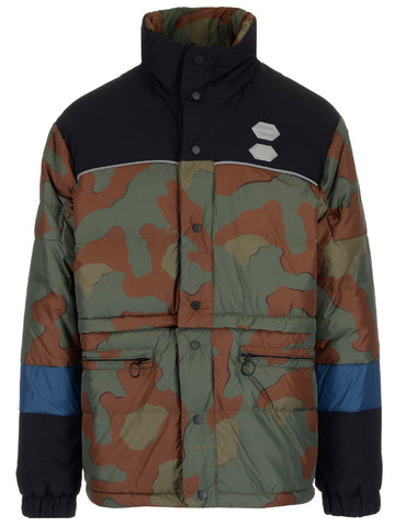 Off-White Puffed Army Button Up Jacket
