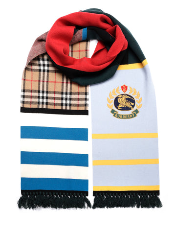 Burberry Colour-Block Scarf