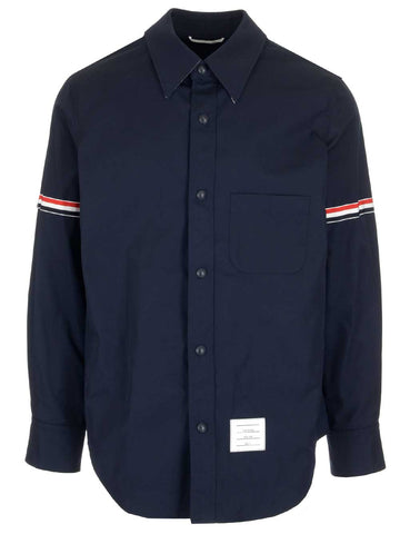 Thom Browne Striped Armband Shirt