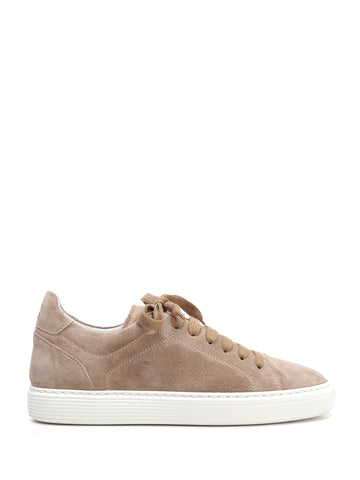 Brunello Cucinelli Suede Lace-Up Sneakers
