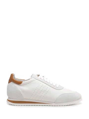 Brunello Cucinelli Contrast Lace-Up Sneakers