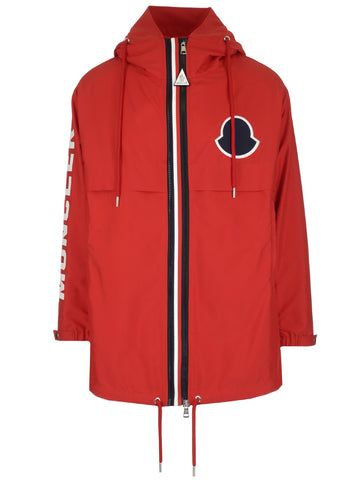 Moncler Logo Zip-Up Jacket