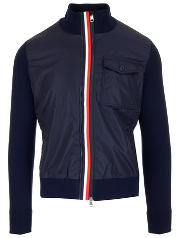 Moncler Zipped Bomber Jacket