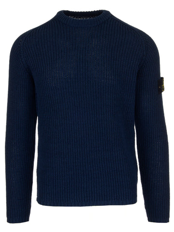 Stone Island Logo Knitted Jumper