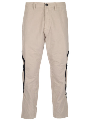 Stone Island Shadow Project Zip Detail Trousers