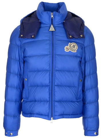 Moncler Bramant Logo Patch Puffer Jacket
