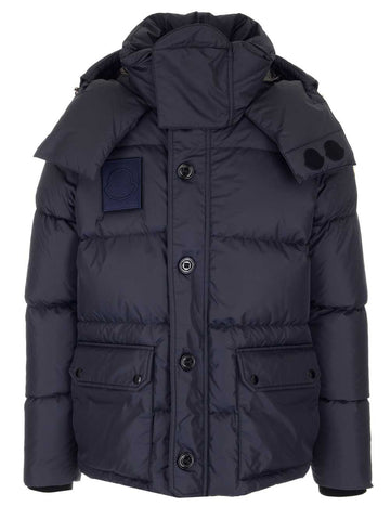 Moncler Dary Logo Patch Hooded Jacket