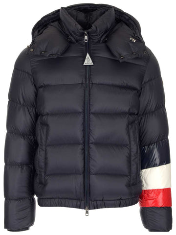 Moncler Willm Striped Detail Padded Hooded Jacket