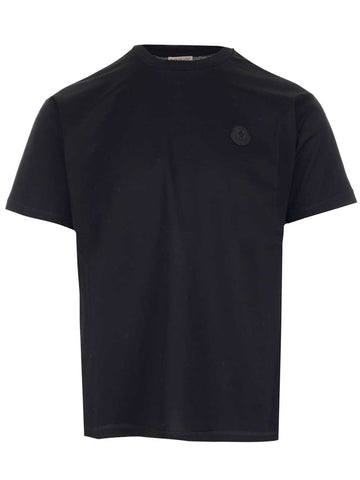 Moncler Logo Patch Crewneck T-Shirt