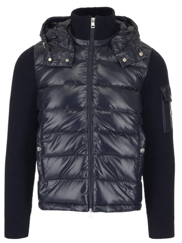 Moncler Logo Patch Padded Hooded Jacket
