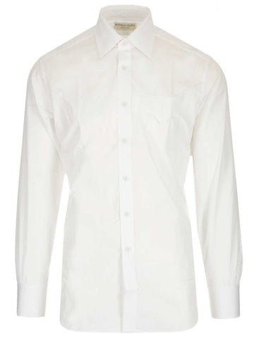 Bottega Veneta Pocket Detail Shirt