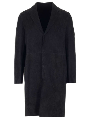 Salvatore Santoro Shawl Collar Single Breasted Coat