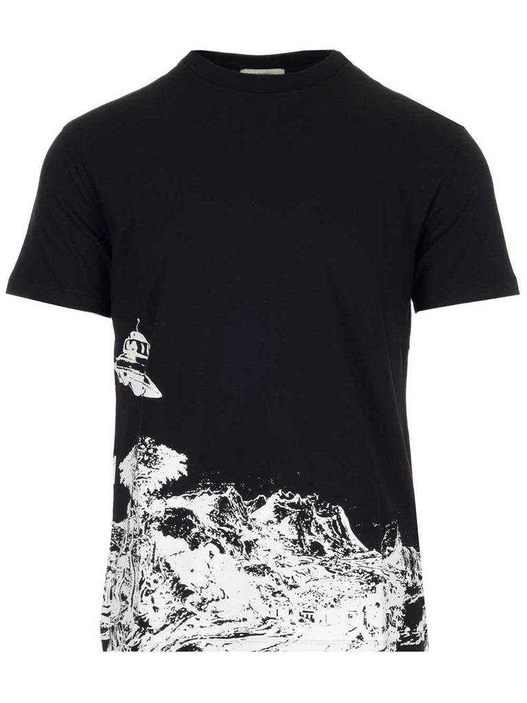 Valentino Graphic Printed T-Shirt