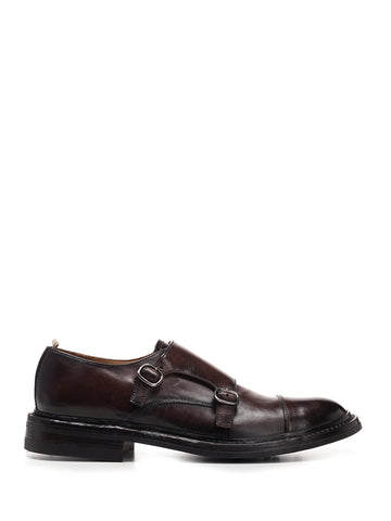 Officine Creative Double Buckled Shoes