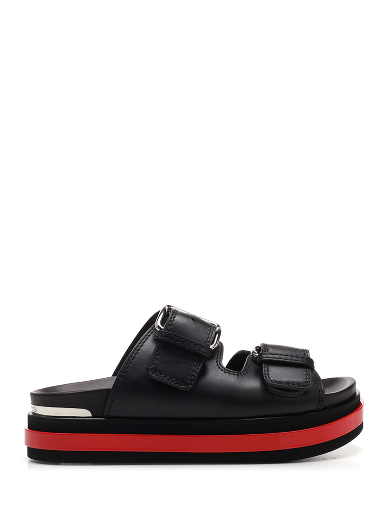 Alexander McQueen Buckle Detail Sandals