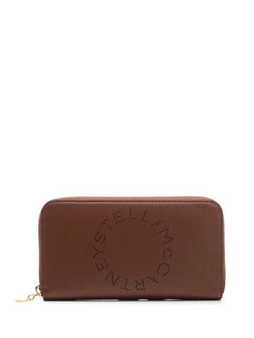 Stella McCartney Logo Continental Wallet