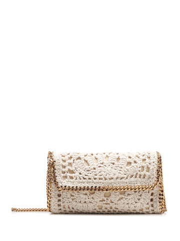 Stella McCartney Crochet Shoulder Bag