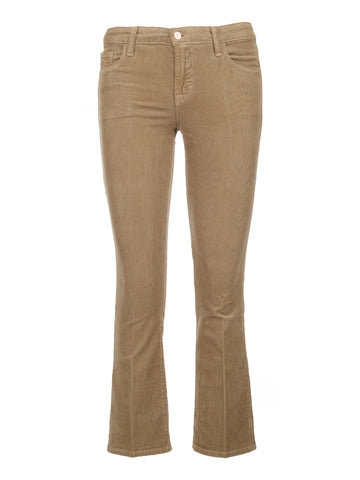 J Brand Cropped Flared Trousers