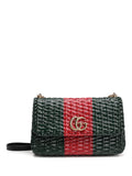 Gucci GG Straw Shoulder Bag