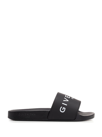 Givenchy Paris Logo Sandals